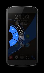Planar Blue PA/CM11 Theme v1.1
