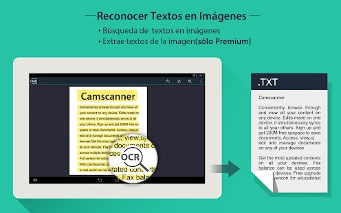 CamScanner - PDF Creator,Fax: miniatura de captura de pantalla