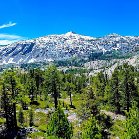 Tahoe Desolation Wilderness by Mj Schaer - Landscapes Mountains & Hills ( wilderness, mountains, outdoors, travel, hiking, lake tahoe )