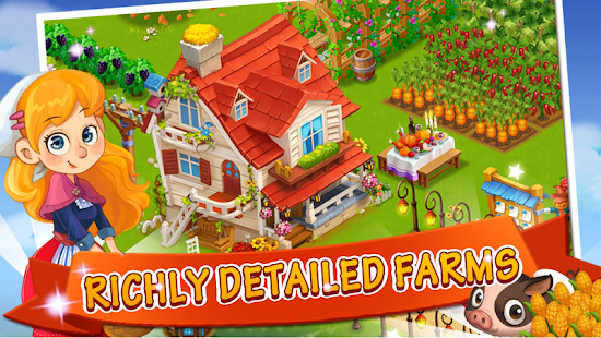 Happy Farm:Candy Day Screenshot 5
