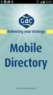 GAC Mobile Directory