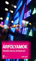 Screenshot of Árfolyamok