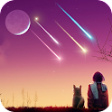 Romatic Meteor Live Wallpaper