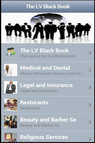 Las Vegas Black Book App