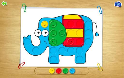 Button Board - Learn Colours
