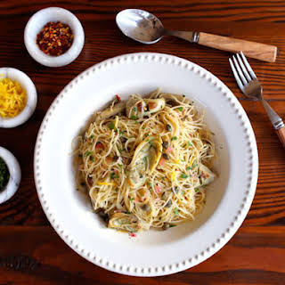 Pasta With Capers And Artichokes Recipes.