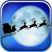 Flying Santa Live Wallpaper
