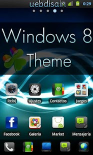 GO Launcher EX Windows 8 Theme - screenshot thumbnail