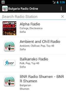 Bulgaria Radio Online - screenshot thumbnail