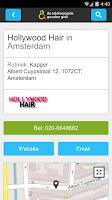 Screenshot of De Telefoongids - Zoek & Vind