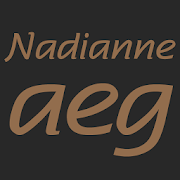 Nadianne Medium FlipFont 1.0 Icon