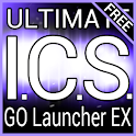 Purple ICS GO Launcher Theme logo