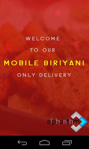 Mobile Biriyani