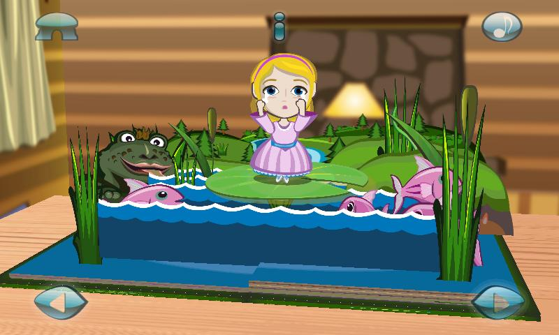 Thumbelina:3D Popup Book - screenshot