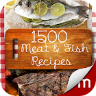1,500+ Meat & Fish Recipes icon