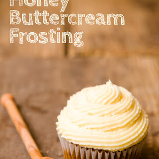Honey Buttercream Frosting.
