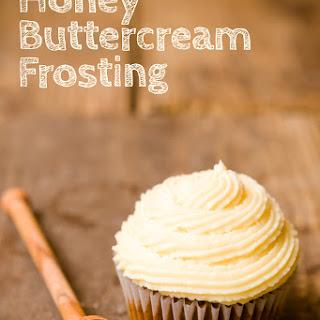 Honey Buttercream Frosting.