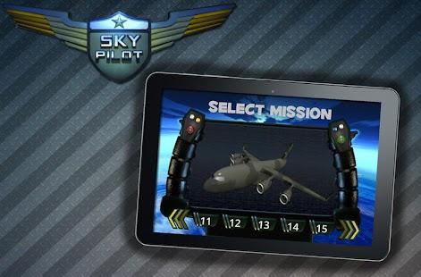 天空飛行員-3D 飛機模擬器