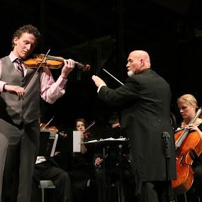 Vivaldi, 'Spring' at Crystal Bridges by Kenny Fendler - People Musicians & Entertainers