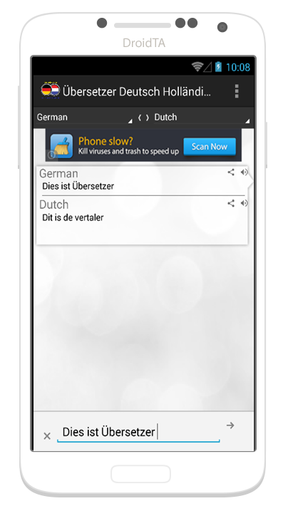 bersetzer deutsch holl ndisch android apps auf google play. Black Bedroom Furniture Sets. Home Design Ideas