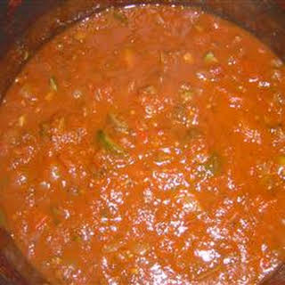 Fresh Spaghetti Sauce.