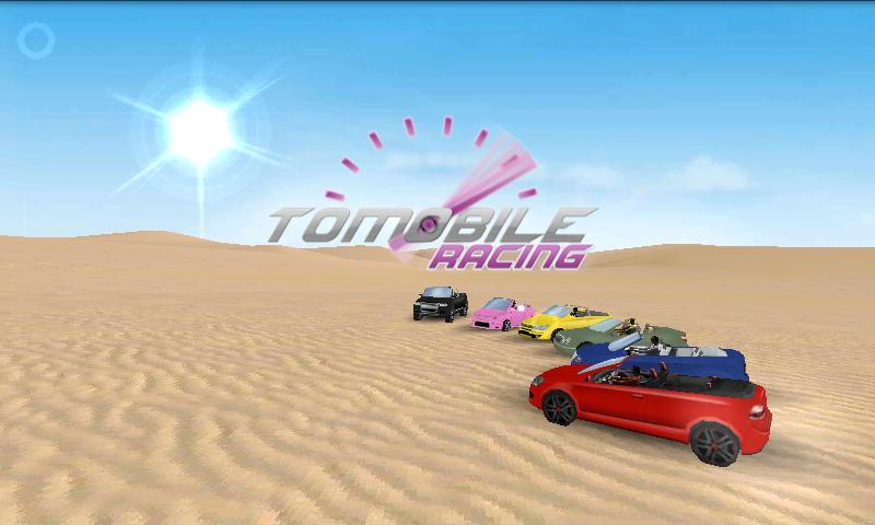 Tomobile Racing- screenshot