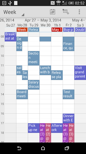 Zoom Calendar organizer Lite