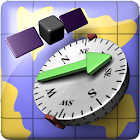 AR GPS Compass Map 3D icon