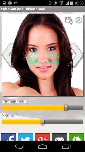 Paint your face Turkmenistan