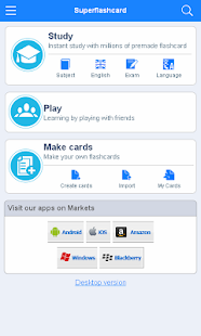 Korean Flashcards Screenshot