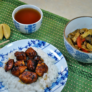 Sweet and Spicy Chinese Takeout Chicken.