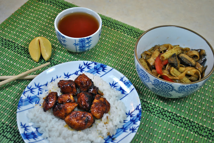 Sweet and Spicy Chinese Takeout Chicken Recipe