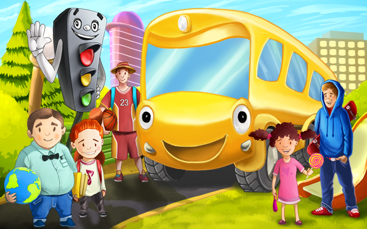 Bus Games for Kids 4 Free APK Latest Version Download Free