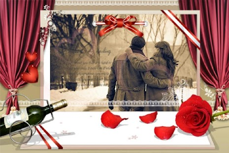 photo frames romantic flower screenshot thumbnail