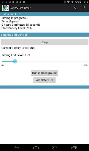 Battery Life Timer