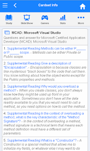 MCAD Flashcards- screenshot thumbnail