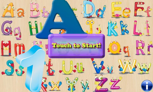 幼児のためのアルファベットの困惑