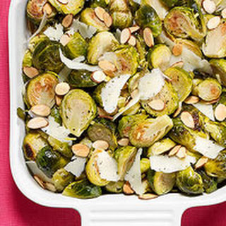 Manchego-Almond Brussels Sprouts