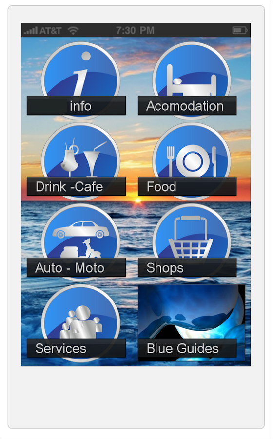 Naxos Blue Guides - screenshot
