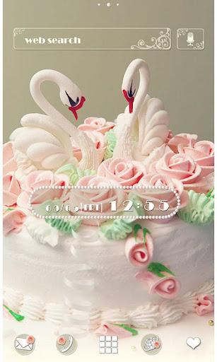 Cute Wallpaper Swan Cake 1.0.1 Windows u7528 1