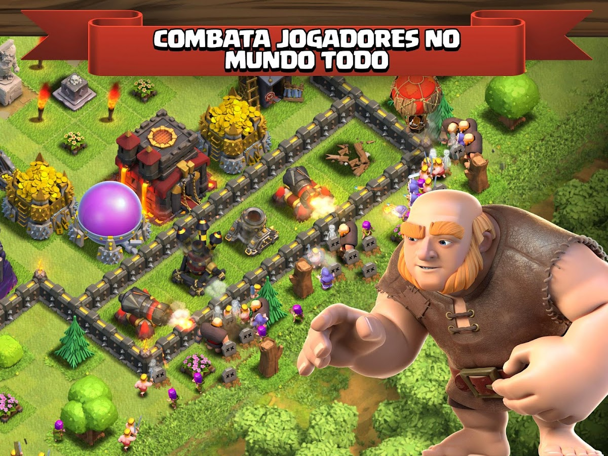 Clash of Clans – Apps para Android no Google Play