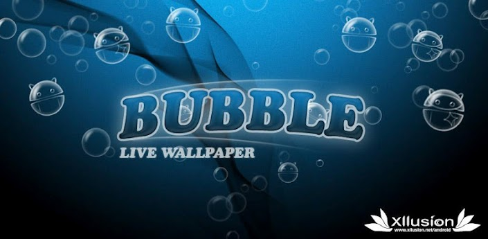 Android Bubbles Live Wallpaper