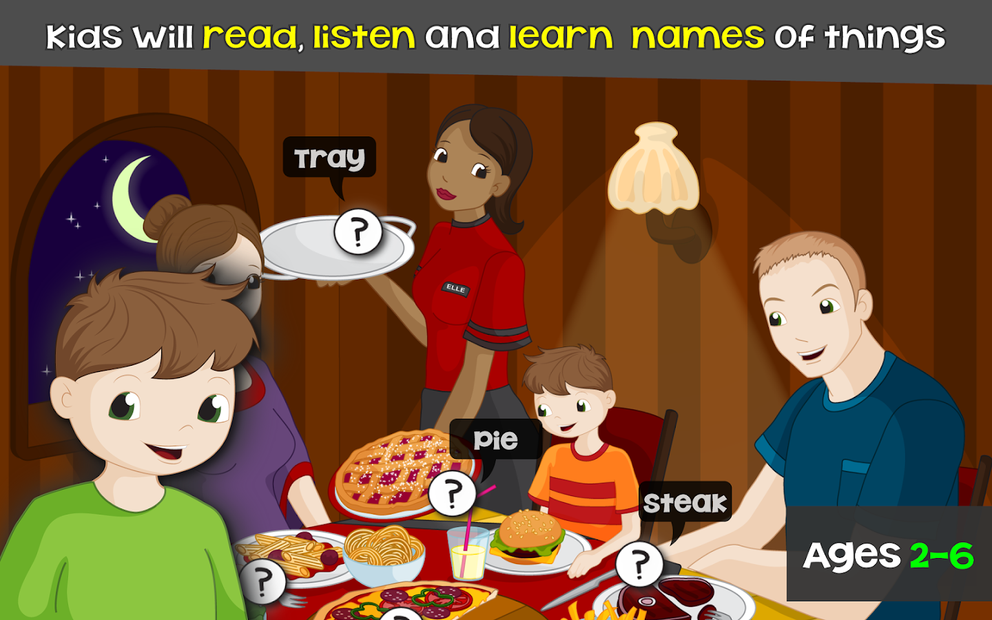 Words for Kids - Reading Games- screenshot