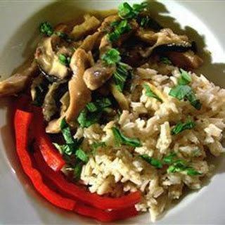 Thai Chicken And Basil Stir Fry.