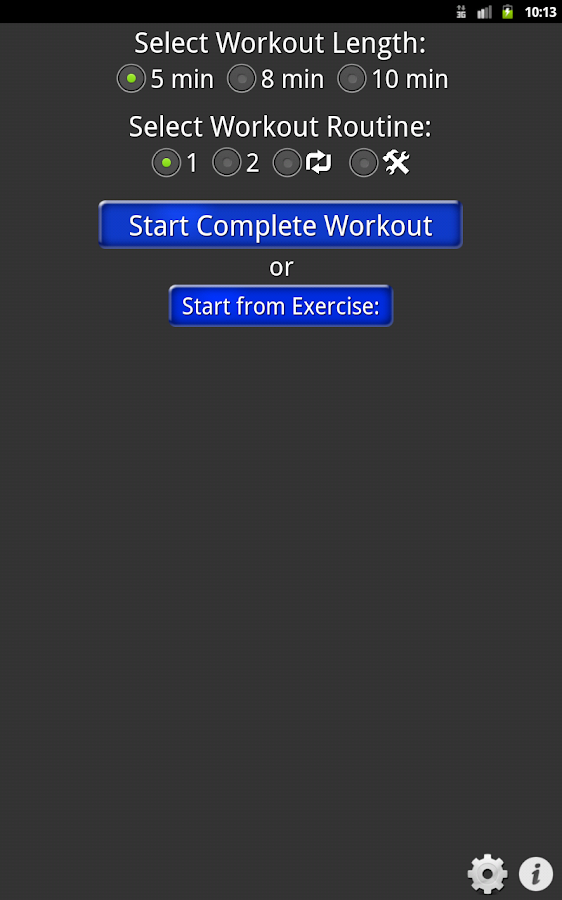 Daily Cardio Workout - screenshot