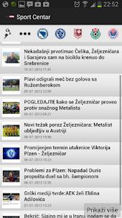 Sport Centar - scsport.ba- screenshot thumbnail