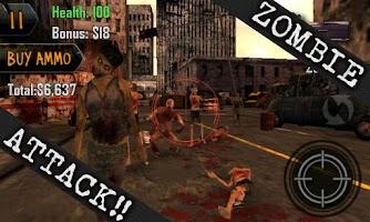 Screenshot of Dead Shot Zombies -OUTBREAK-