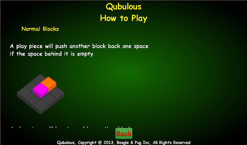 Screenshots for Qubulous