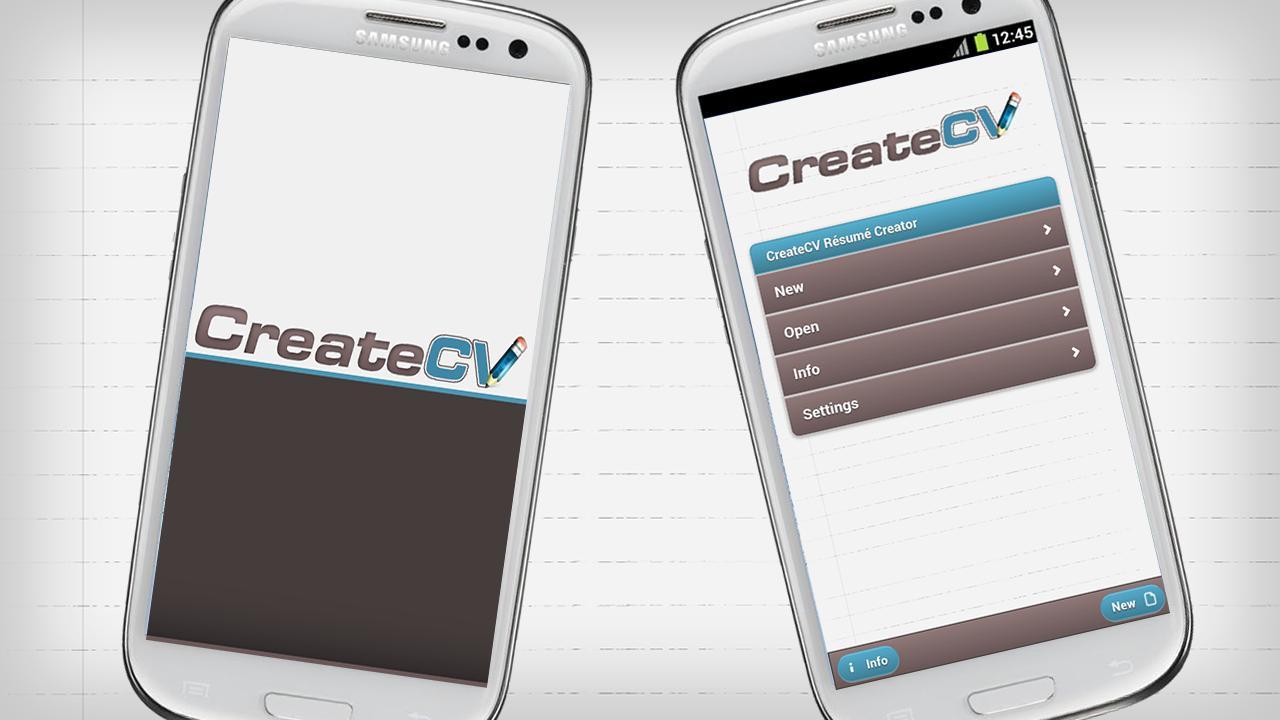 createcv rsum creator screenshot - Resume Creator