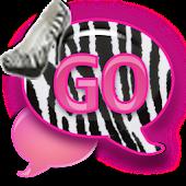 GO SMS - Zebra Stilettos SMS